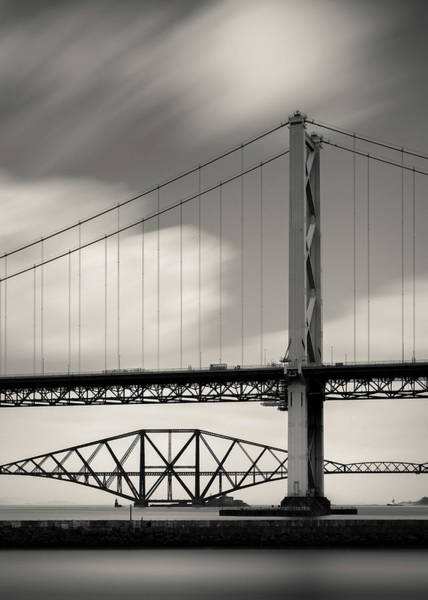 Wall Art - Photograph - Two Bridges by Dave Bowman