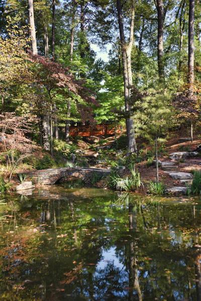 Photograph - Two Bridges - Duke Gardens by Paulette B Wright