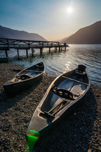Photograph - Two Canoe by Kristopher Schoenleber