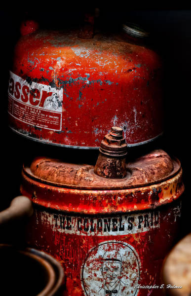 Photograph - Two Cans by Christopher Holmes