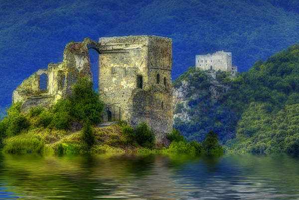 Photograph - Two Castles On The Lake by Enrico Pelos
