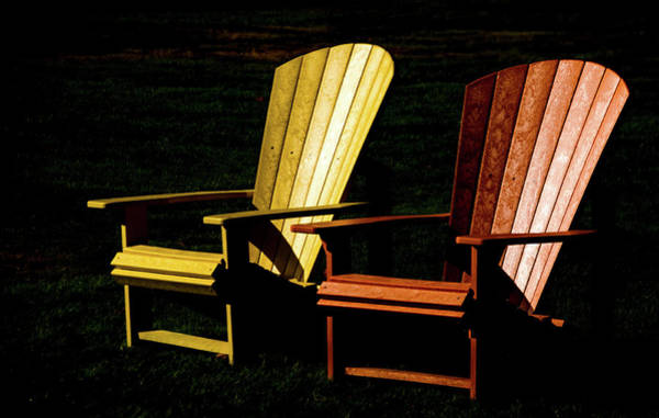 Photograph - Two Chairs by Julie Palencia