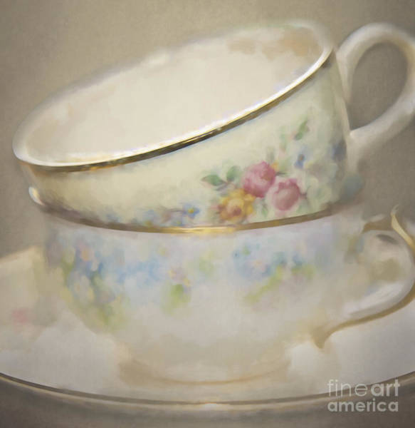 Photograph - Two Cups by Pam  Holdsworth