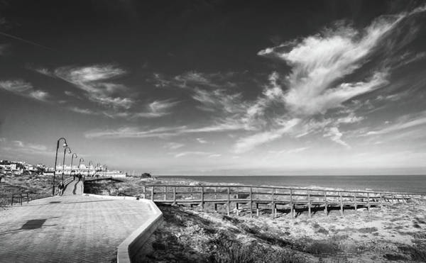 Photograph - Two Directions At The Beach by Gary Gillette