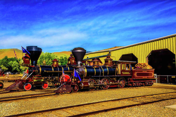 Wall Art - Photograph - Two Fantastic Gingerbread Trains by Garry Gay