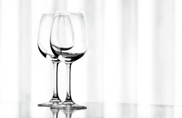 Wall Art - Photograph - Two Glasses by Dan Holm