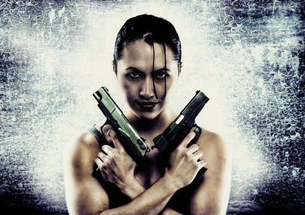 Photograph - Lara Croft by Reynaldo Williams