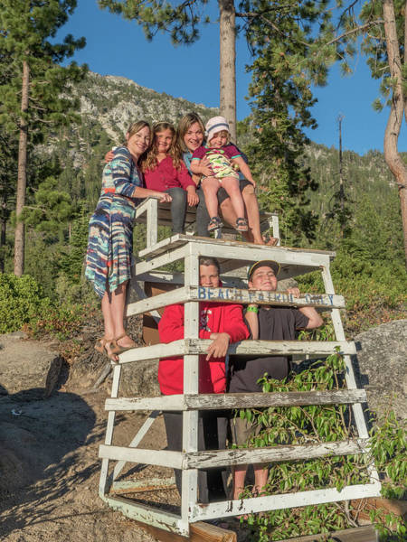 Photograph - Two Happy Families At Tahoe by Martin Gollery