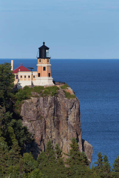 Photograph - Split Rock Lighthouse Minnesota by David Lunde