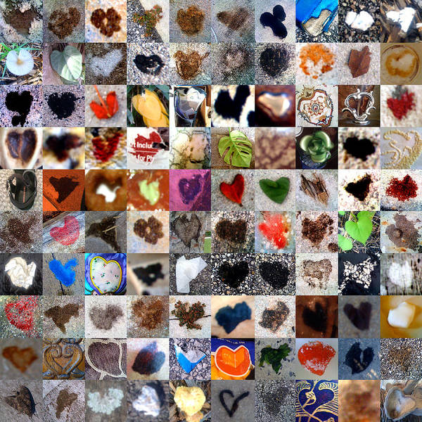 Mosaic Photograph - Two Hundred Series by Boy Sees Hearts