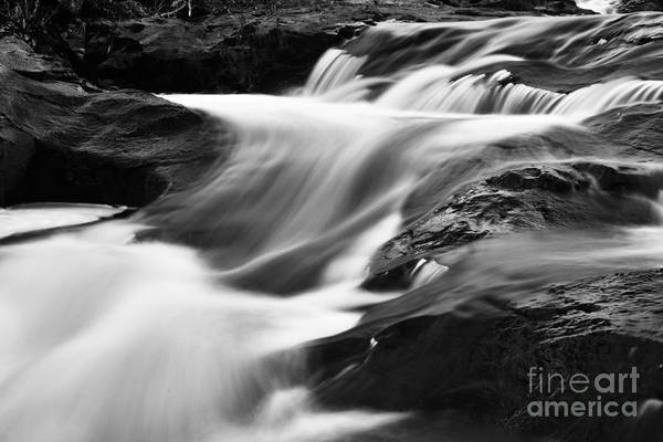 Photograph - Two Island River Cascade by Larry Ricker