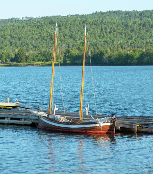 Photograph - Two Masted Antique by Sally Sperry