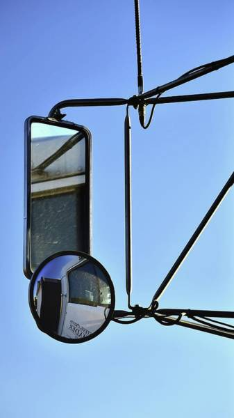 Photograph - Two Mirrors Antenna by Jerry Sodorff