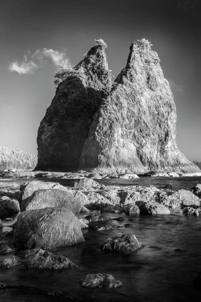 Wall Art - Photograph - Two Monoliths by Jon Glaser