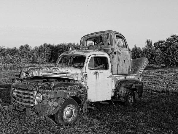 Photograph - Two More Trucks Dear by Lawrence Christopher