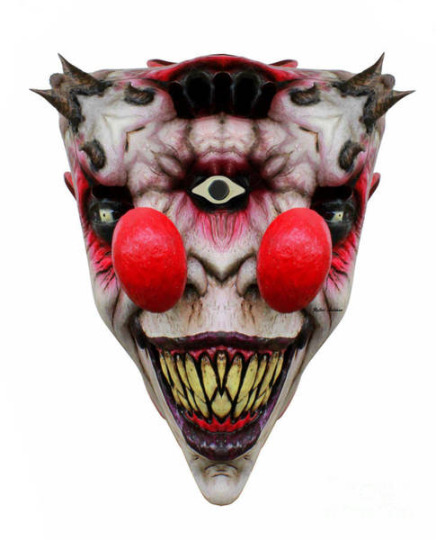 Digital Art - Two Nosed Clown by Rafael Salazar