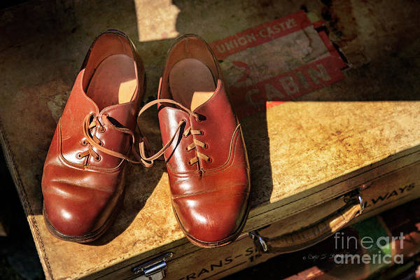 Photograph - Two Old Shoes by Craig J Satterlee