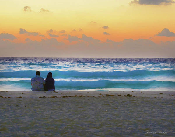 Photograph - Two On A Beach by Coleman Mattingly