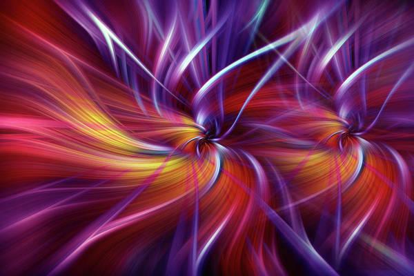 Digital Art - Two Passionate Souls by Jenny Rainbow
