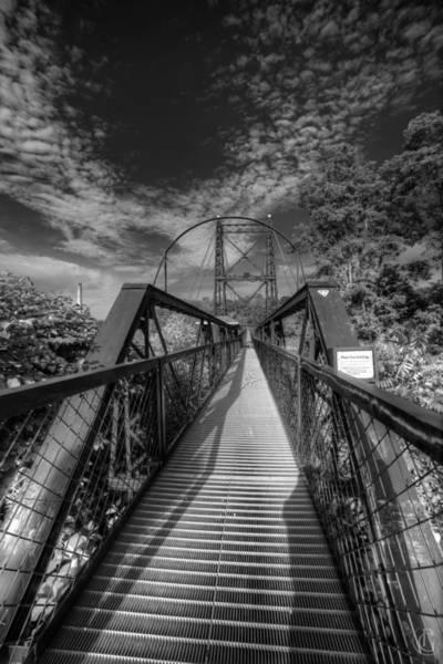 Digital Art - Two-penny Bridge by Patrick Groleau