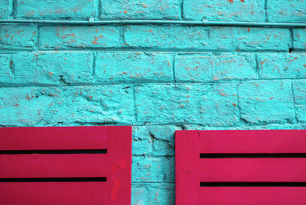 Photograph - Two Pink Chairs by Prakash Ghai