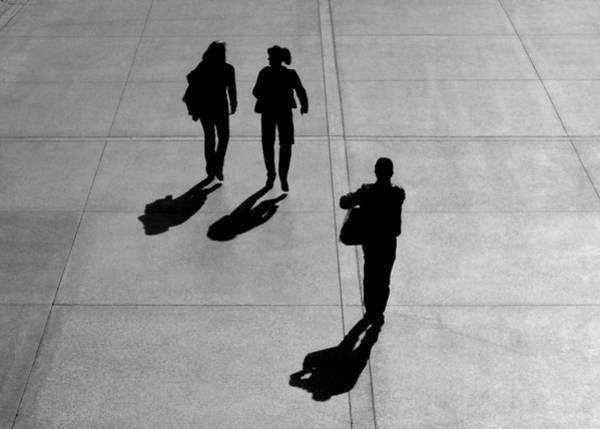 Photograph - Two Plus One by Stuart Allen