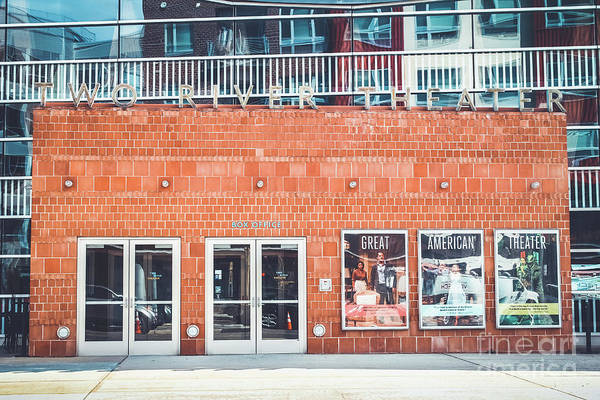 Wall Art - Photograph - Two River Theater - Red Bank by Colleen Kammerer
