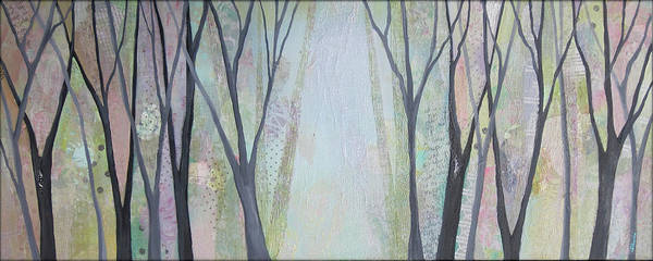 Wall Art - Painting - Two Roads I by Shadia
