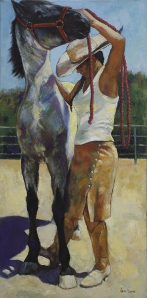 Painting - Two To Tango by Harvie Brown