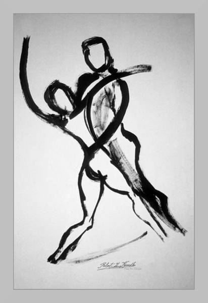 Painting - Two To Tango by Robert Kernodle