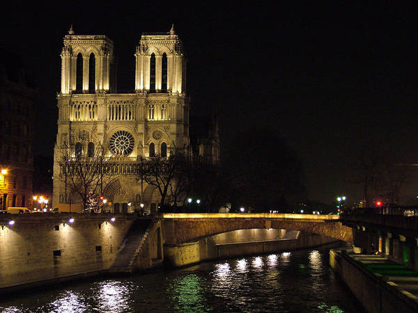 Photograph - Two Towers Of Notre Dame by Donna Corless