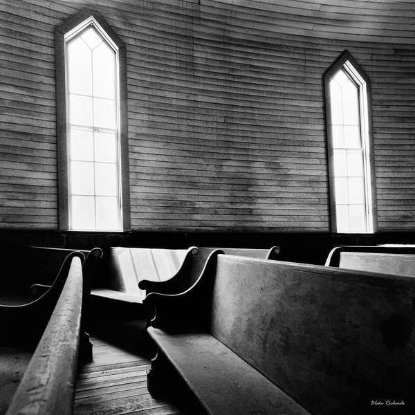 Photograph - Two Window Church by Blake Richards