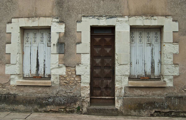 Photograph - Two Windows And A Door by Jani Freimann