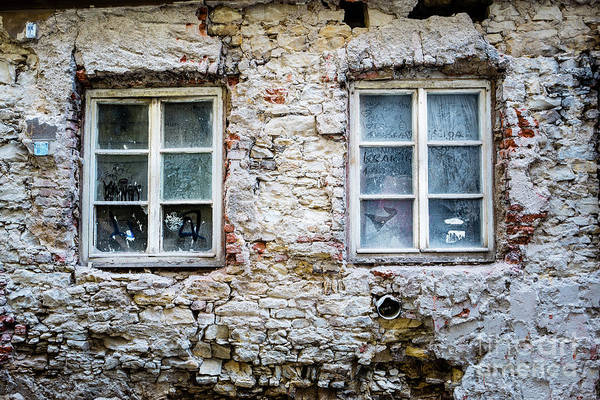 Photograph - Two Windows by M G Whittingham