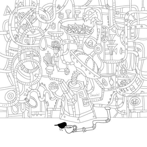 Science Fiction Wall Art - Digital Art - Two Worlds by Smokini Graphics