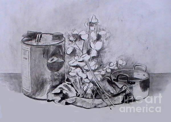Drawing - Two Worlds by Toon De Zwart