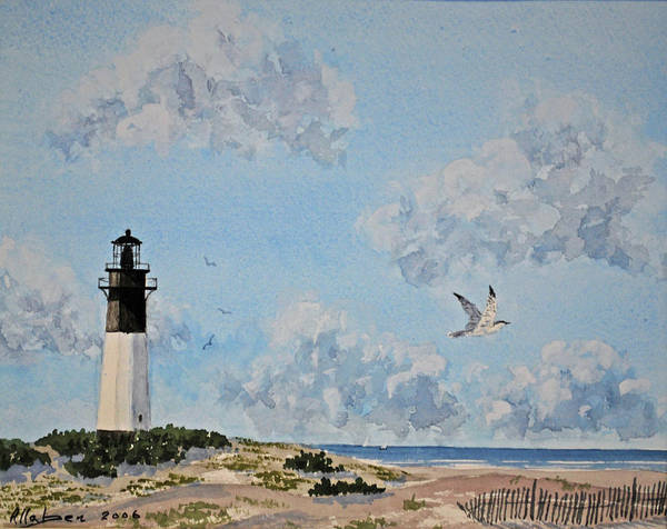 Painting - Tybee Light Savannah by Stanton Allaben