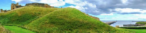 Stone Wall Art - Photograph - Tynemouth Panorama by Iordanis Pallikaras