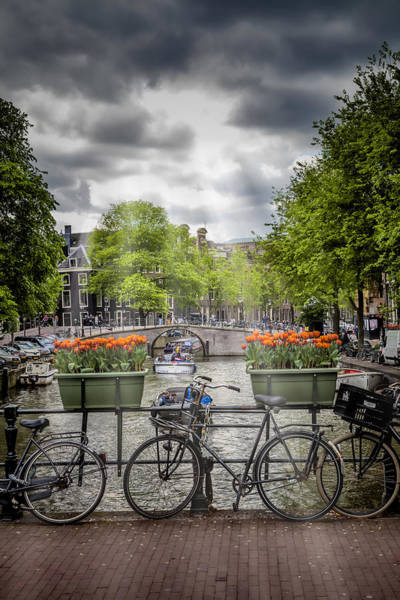 Amsterdam Photograph - Typical Amsterdam by Melanie Viola