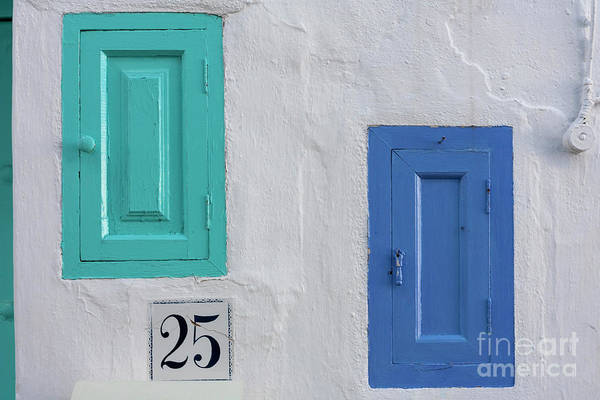 Photograph - Typical Details In White Village Of Andalusia  by Heiko Koehrer-Wagner