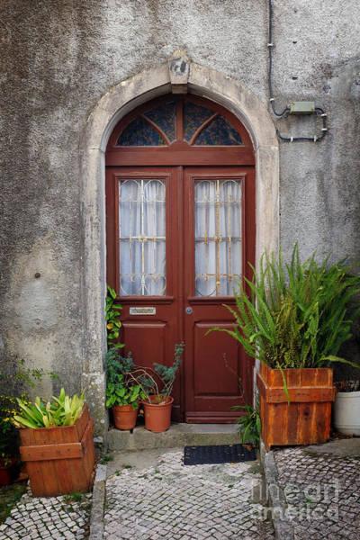 Sintra Photograph - Typical Door by Carlos Caetano