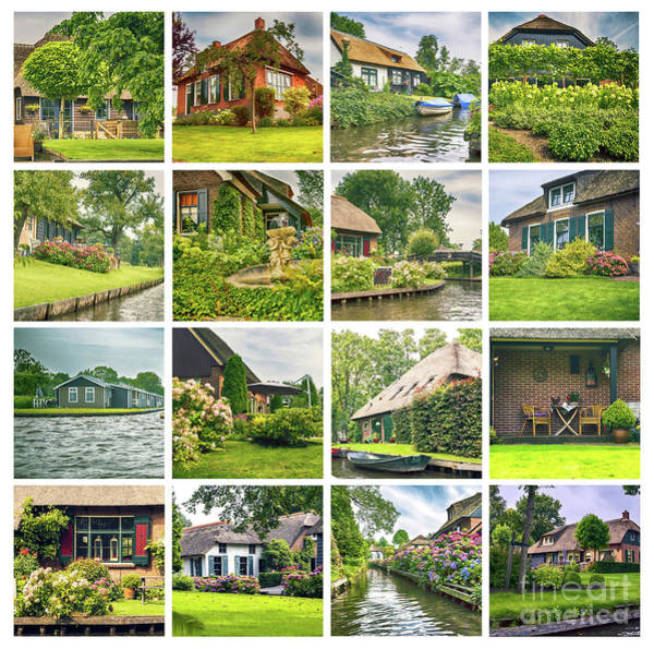 Photograph - Typical Dutch County Side  by Ariadna De Raadt