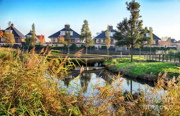 Photograph - Typical Dutch Modern Village by Ariadna De Raadt