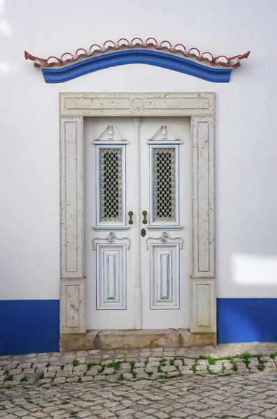 Wall Art - Photograph - Typical Ericeira Door by Carlos Caetano