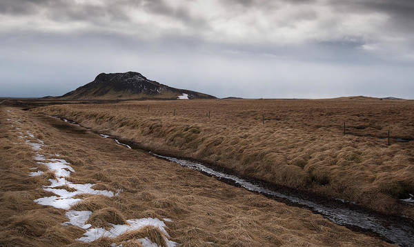 Icelandic Landscapes Wall Art - Photograph - Typical Icelandic Mountain Landscape by Michalakis Ppalis