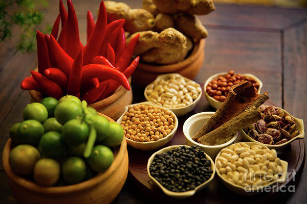 Quang Nam Province Photograph - Typical Ingredients For Vietnamese Cooking by Lisa Top
