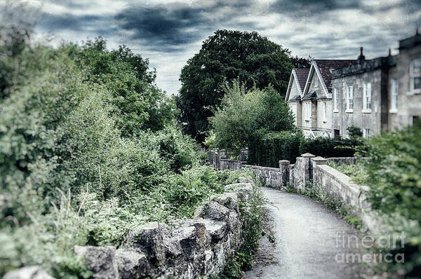 Photograph - typical old English village by Ariadna De Raadt
