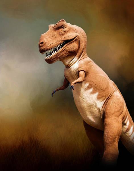 Wall Art - Photograph - Tyrannosaurus Rex At Dinosaur Valley State Park by David and Carol Kelly