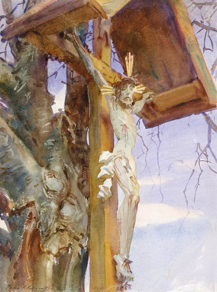 Drawing - Tyrolese Crucifix by John Singer Sargent