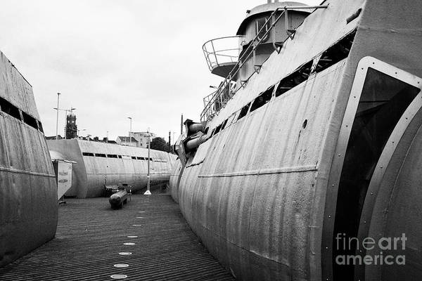 Woodside Photograph - u-534 submarine museum at u-boat story Liverpool Merseyside UK by Joe Fox